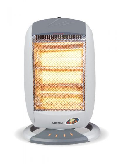 Arion AR-160KR Halogen Heater with Remote Control-4 Candles