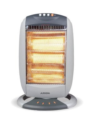 Arion AR-120E Halogen Heater 3 Candles