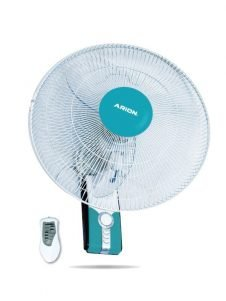 Arion WF-1804 Boeing Wall Fan with Remote Control - 18 inch