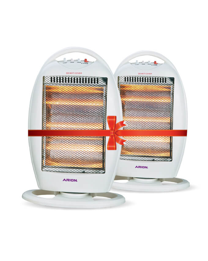 ARION Halogen Heater 3 Candles AR-19S - Set of 2