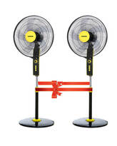 ARION Turbo stand fan set of 2 yellow