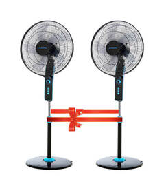 ARION Turbo Stand Fan 18 Inch Set of 2
