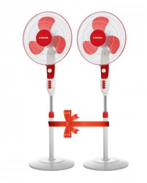 ARION Elite Stand Fan 16 Inch Set of 2
